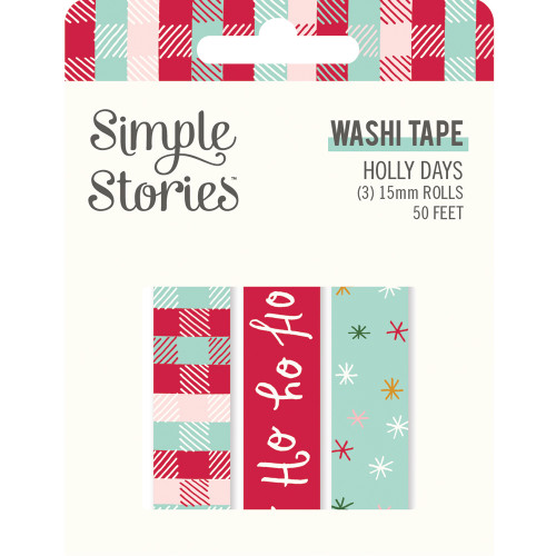 Simple Stories Holly Days Washi Tape