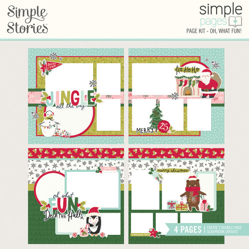"""Simple Stories """"Simple Pages"""" Page Kit: Oh, What Fun!"""