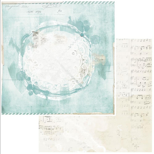 49 and Market Vintage Artistry 12x12 Paper: Peace & Joy | Northpole