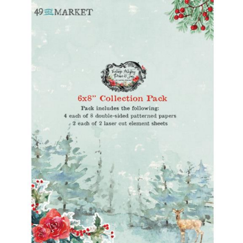 49 and Market Vintage Artistry 6x8 Collection Pack: Peace & Joy