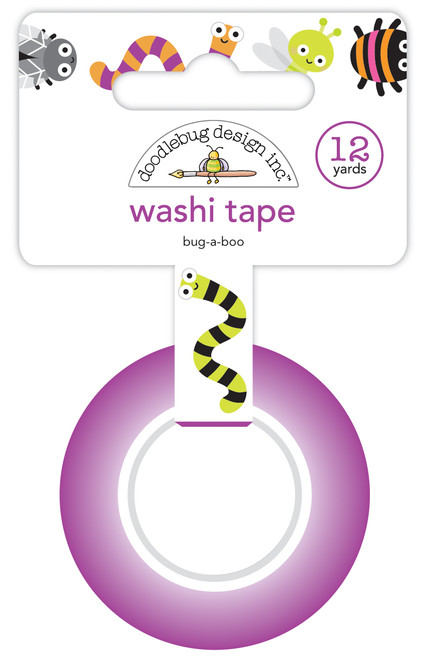 Doodlebug Happy Haunting Washi Tape:  Bug-A-Boo