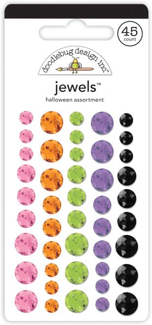 Doodlebug Happy Haunting Jewels: Halloween Assortment