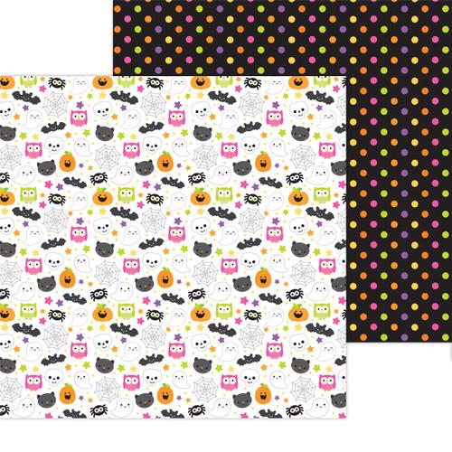 Doodlebug Happy Haunting 12x12 Paper: Happy Haunting