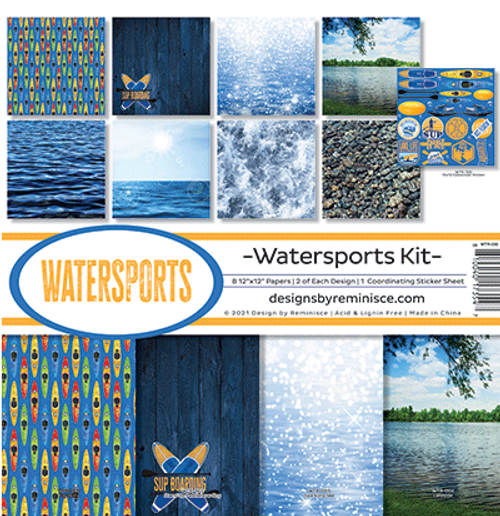 Reminisce 12x12 Collection Pack: Watersports