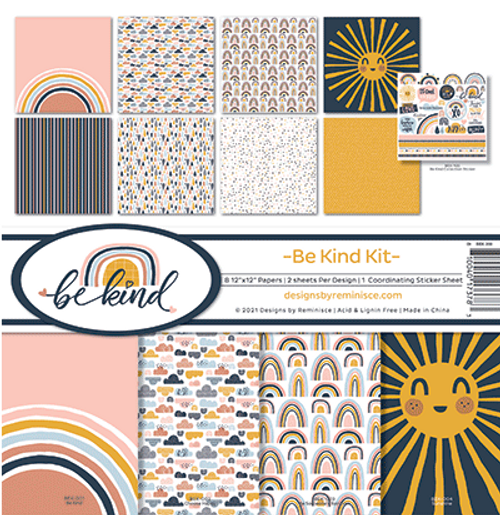 Reminisce 12x12 Collection Pack: Be Kind