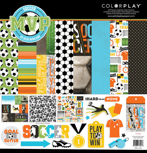 ColorPlay MVP Soccer 12x12 Collection Pack