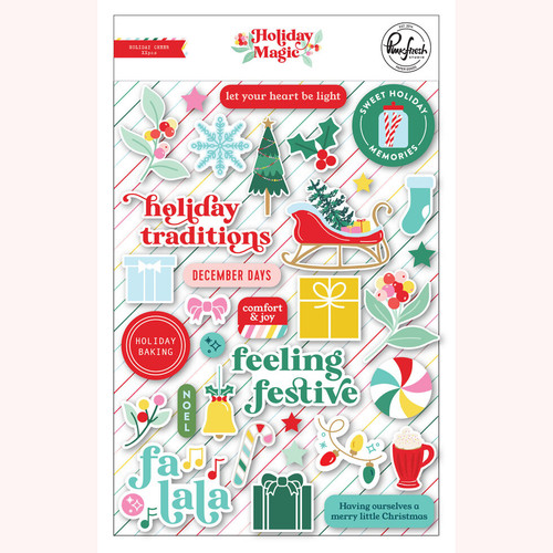 Pinkfresh Studio Holiday Magic: Puffy Stickers
