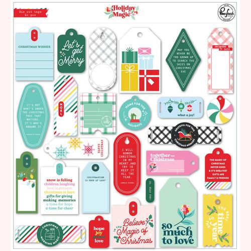 Pinkfresh Studio Holiday Magic: Die Cut Tags