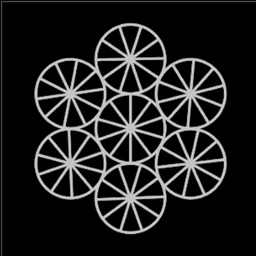 SG 12x12 Cardstock Diecuts: Pie Circles Background