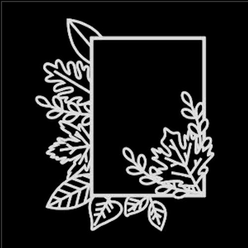 SG 12x12 Cardstock Diecuts: Fall Leaves w/5x7 Frame