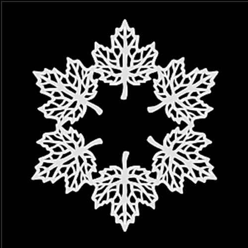 SG 12x12 Cardstock Diecuts: Maple Leaf Wreath
