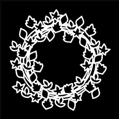 SG 12x12 Cardstock Diecuts: Leaf Wreath #2