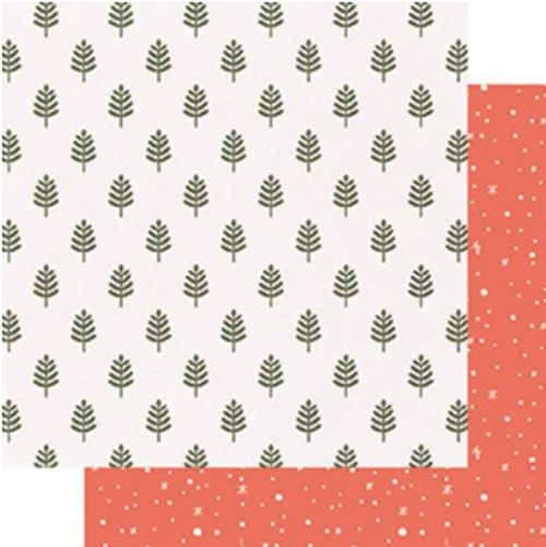 Fancy Pants Home for Christmas 12x12 Paper: Woodland
