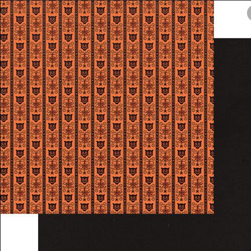 Fancy Pants Howl 12x12 Paper: Scaredy Cat