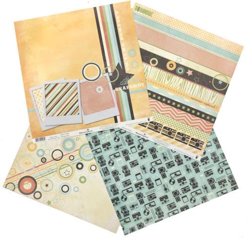 Fancy Pants Memories Captured Mini Paper Pack (4 papers)