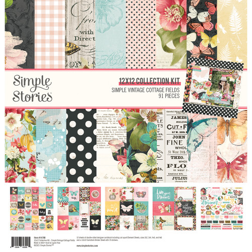 *PREORDER* Simple Stories Simple Vintage Cottage Fields Collection Kit