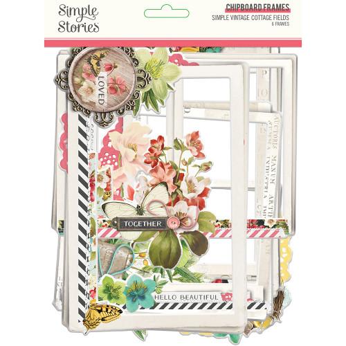 *PREORDER* Simple Stories Simple Vintage Cottage Fields Chipboard Frames