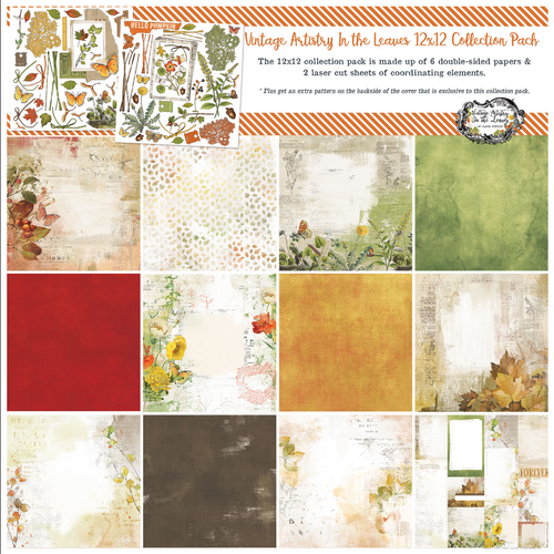 49 and Market Vintage Artistry 12x12 Collection Pack: In the Leaves