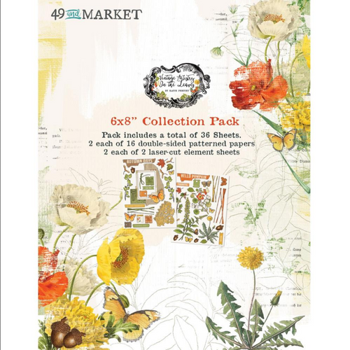 49 and Market Vintage Artistry 6x8 Collection Pack: In the Leaves