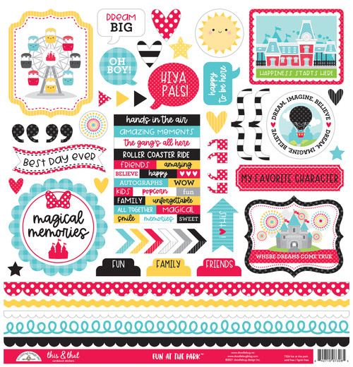 Doodlebug Fun at the Park Stickers: This & That