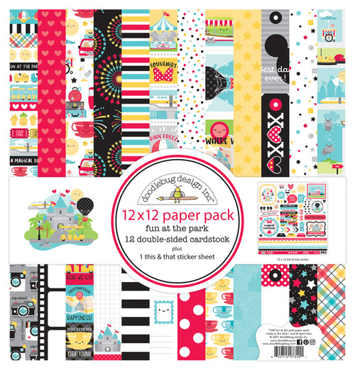 Doodlebug Fun at the Park 12x12 Collection Pack