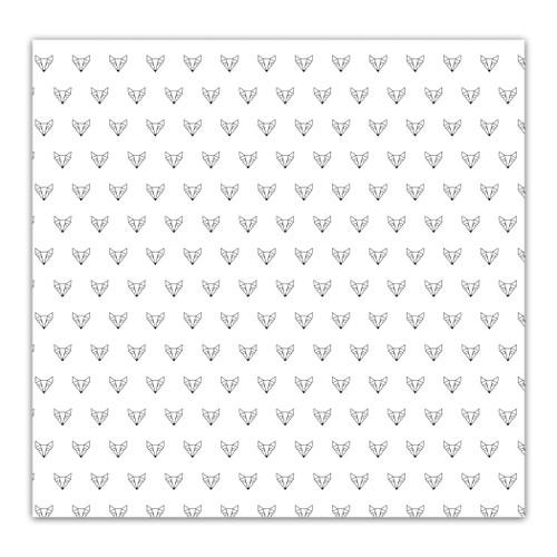 Pretty Little Studio Indian Summer 8x8 Paper (single sided) | Foxy