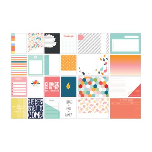 Pretty Little Studio Indian Summer Journaling Cards | Crisp Air