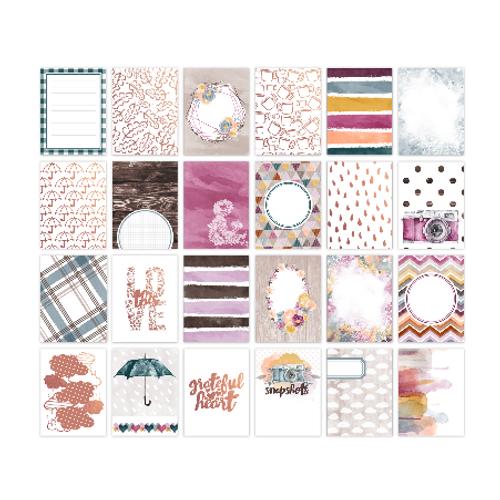 Pretty Little Studio Grateful Heart Pocket Cards | 3x4