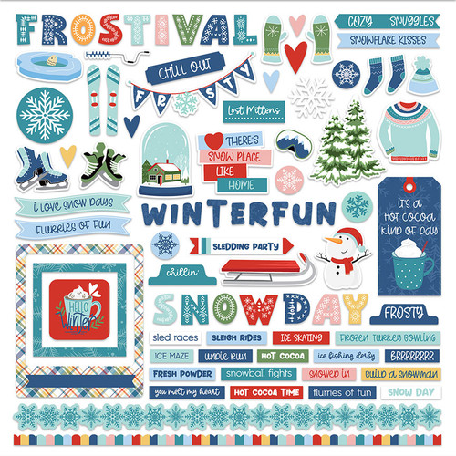 PhotoPlay Frostival Element Sticker