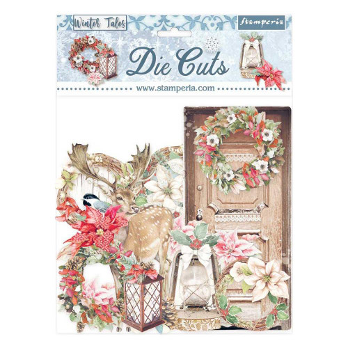 Stamperia Winter Tales Diecuts   Christmas Elements (35 pcs)