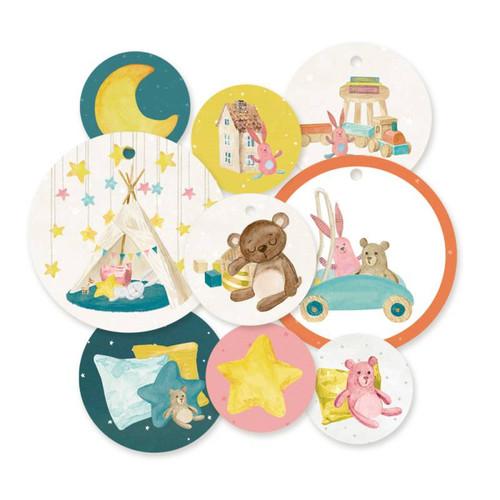 P13 Good Night Decorative Tags: Set 1