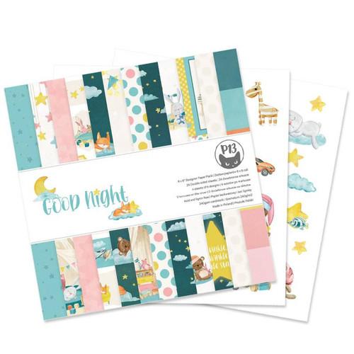 P13 6x6 Paper Pad: Good Night