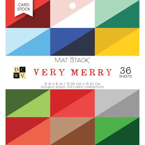 DCWV 6x6 Premium Stack: Very Merry