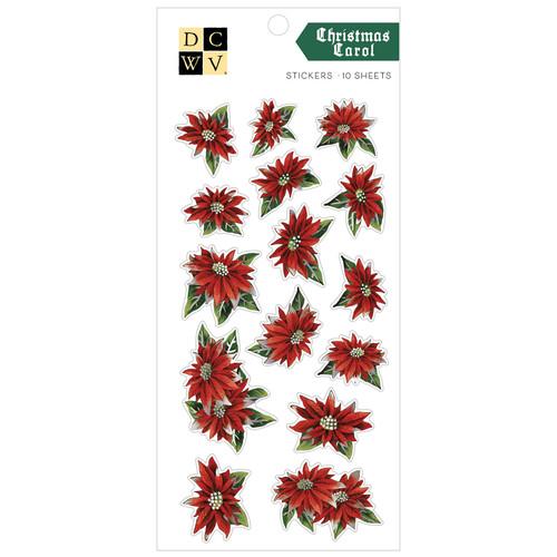 DCWV Sticker Pack: Christmas Carol - Silver Foil (10 sheets)