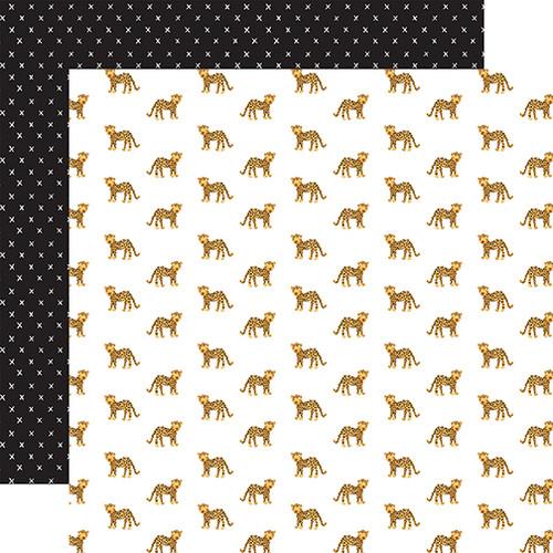 Echo Park Animal Kingdom 12x12 Paper: Running Wild