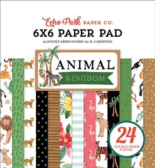 Echo Park Animal Kingdom 6x6 Paper Pad