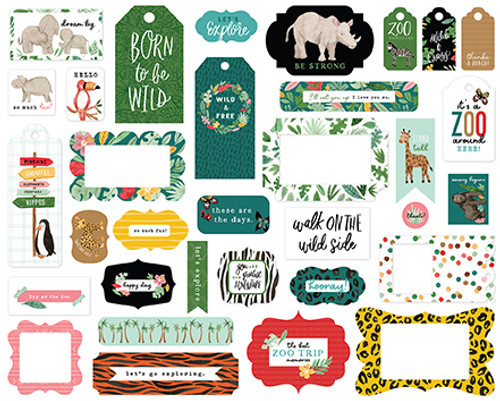 Echo Park Animal Kingdom Frames & Tags