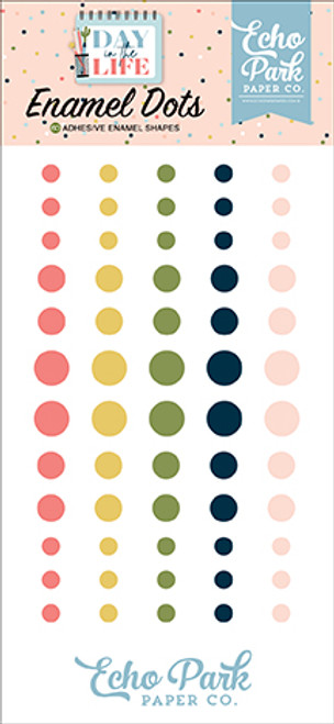 Echo Park Day in the Life Enamel Dots