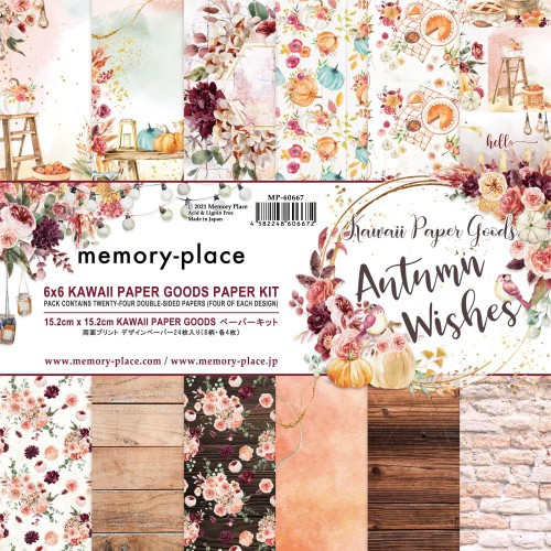 Memory Place 6x6 Paper Pad: Autumn Wishes