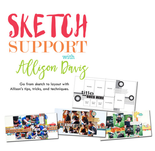 * DIGITAL DOWNLOAD * CLASS: Sketch Support with Allison Davis
