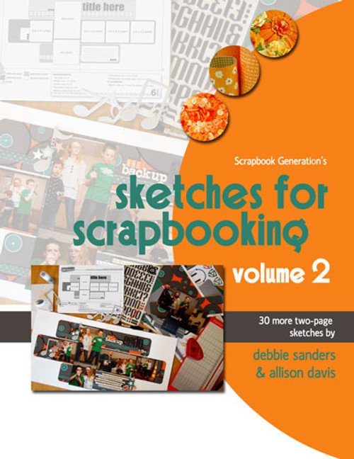 * DIGITAL DOWNLOAD * E-BOOK: Sketches For Scrapbooking - Volume 2