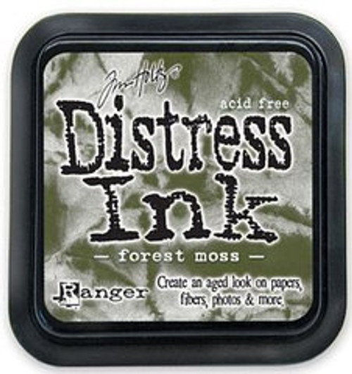Distress Ink Pad: Forest Moss