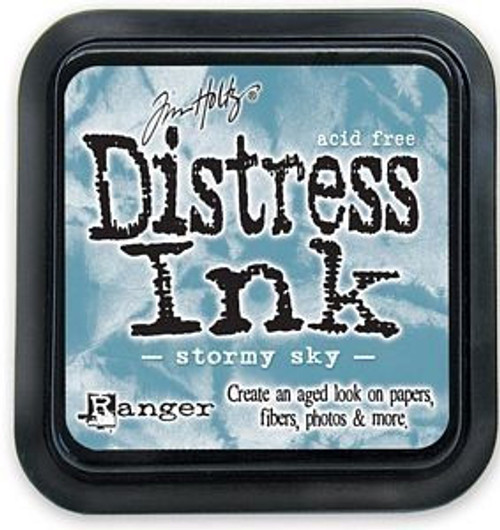 Distress Ink Pad: Stormy Sky