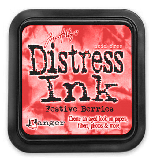 Distress Ink Pad: Festive Berries