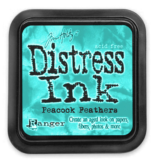 Distress Ink Pad: Peacock Feathers