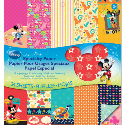 EK Success: Mickey Family Paper Pad