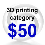 3D Printing Category $50