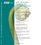 NZ Journal of Environmental Law