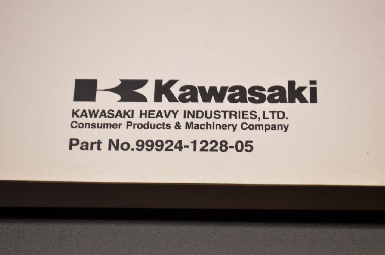 Kawasaki Eliminator 125 Service Manual 99924-1228-05 NOS