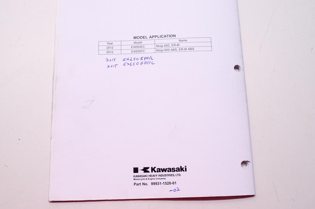Kawasaki Ninja 650 Er 6f Abs Motorcycle Assembly Preparation